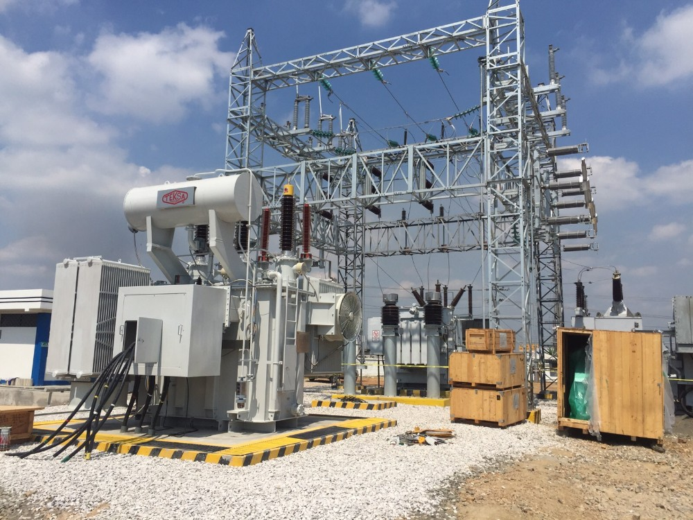 220kv 90mva 3 Phase Oil-Filled Power Transformer with OLTC