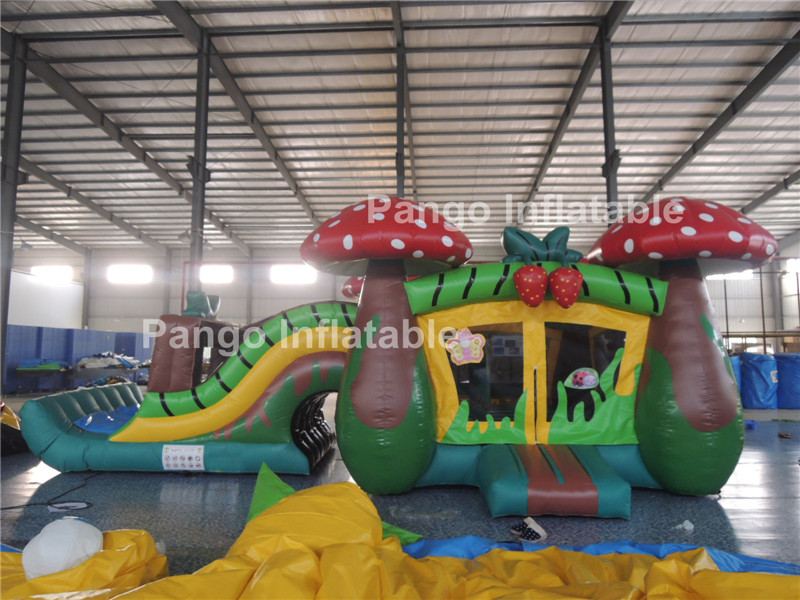 2016Hot!!! insect inflatable slide ,inflatable castle for kids ,inflatable bounce games