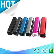 mobile portable mini 2600mah golf mobile power bank one year warranty CE, ROHS, FCC certificate