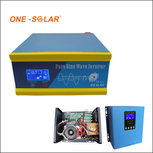 Hybrid Solar Power Inverter 600W 800VA 12V/24V DC to 110V 220V AC off Grid Tie Combined With PWM Charge Controller AC Charger