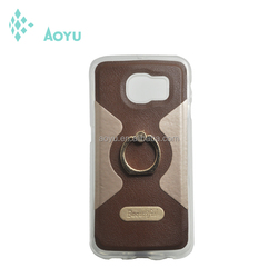 Hot sales case for large instock leather shell for samsung note 5 cover