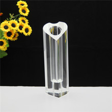 European Ideas Heart Shape Crystal Vase For Home Decoration
