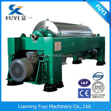 High speed gravel wash water processing decanter centrifuge separator machine with good quality