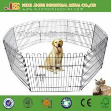 Galvanized Metal Folding Outdoor Puppy Dog Cat Rabbit Playpen
