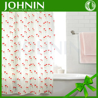 new design customized Custom Double Simple flower shower curtains