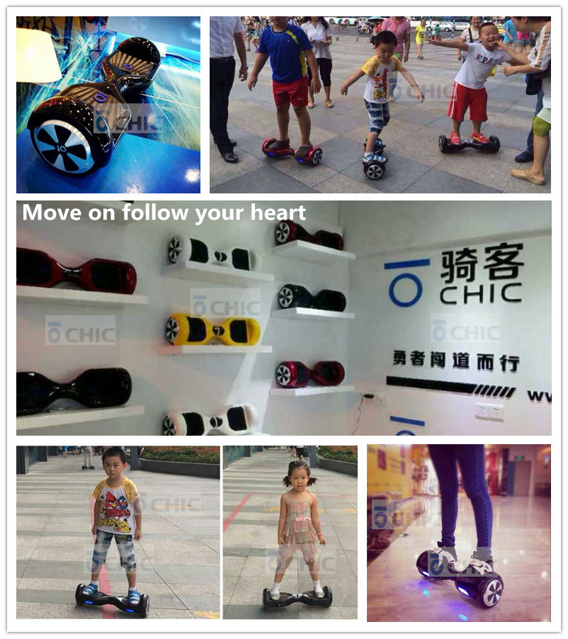 2 wheel scooter / 2 wheel electric scooter / io chic smart intelligent electric balance car