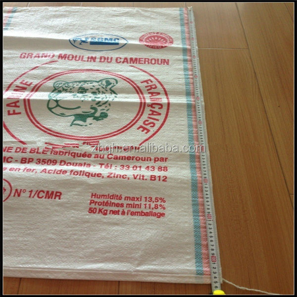 Factory pp grain 50kg bags exported to South Africa