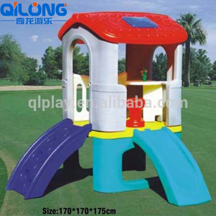 2019 Hot Selling Fun Kids Play Plastic House, Kids House Plastic