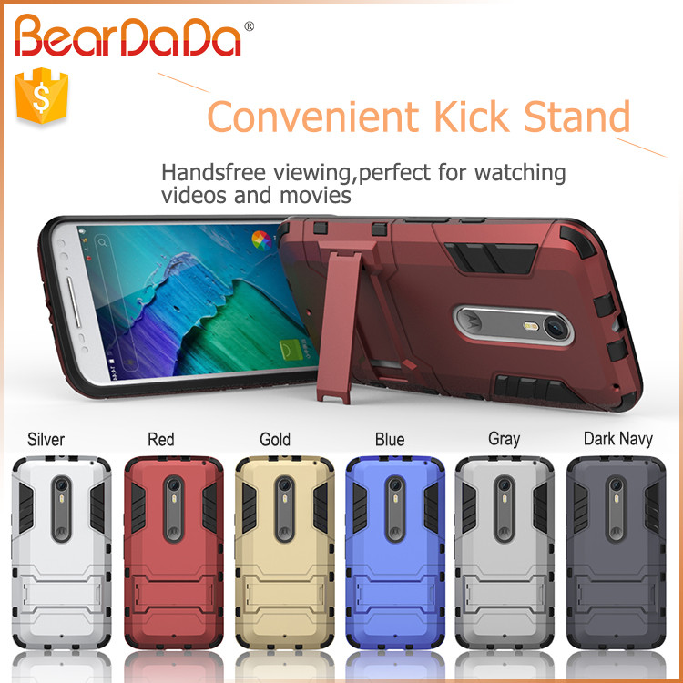 Wholesales Creative bumper case for moto x style