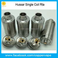 Side Filling hussar single coil rta 2.0mm &2.5mm airhole post crius rta Amazing flavor 2017 hotsale hussar