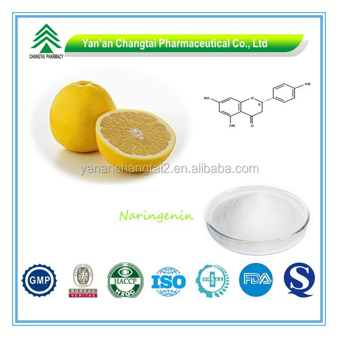 Hot Sale GMP Certificate 100% Pure Natural Naringenin