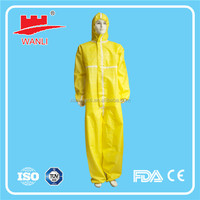 Disposable Chemical Protective Clothing PP SMS