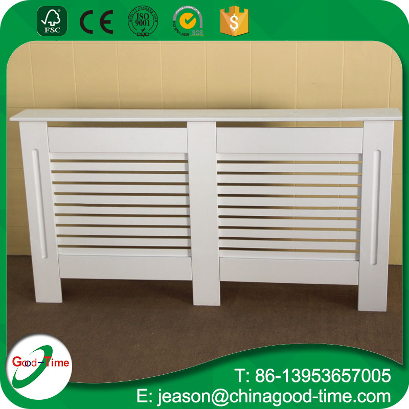 White painting MDF radiator cover