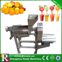 Stainless steel 500kg/h industrial apple/orange/mango/lime juice machine