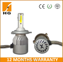 3200lm S4 h4 auto motorcycle car LED Headlight