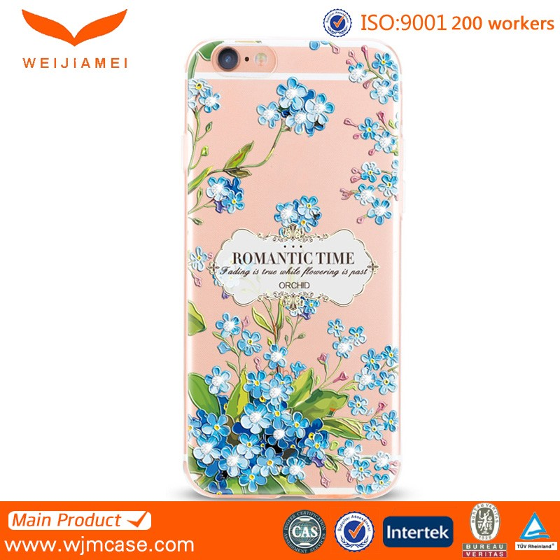 2016 New arrival design mobile phone case for iphone 6 6S tpu case custom printing