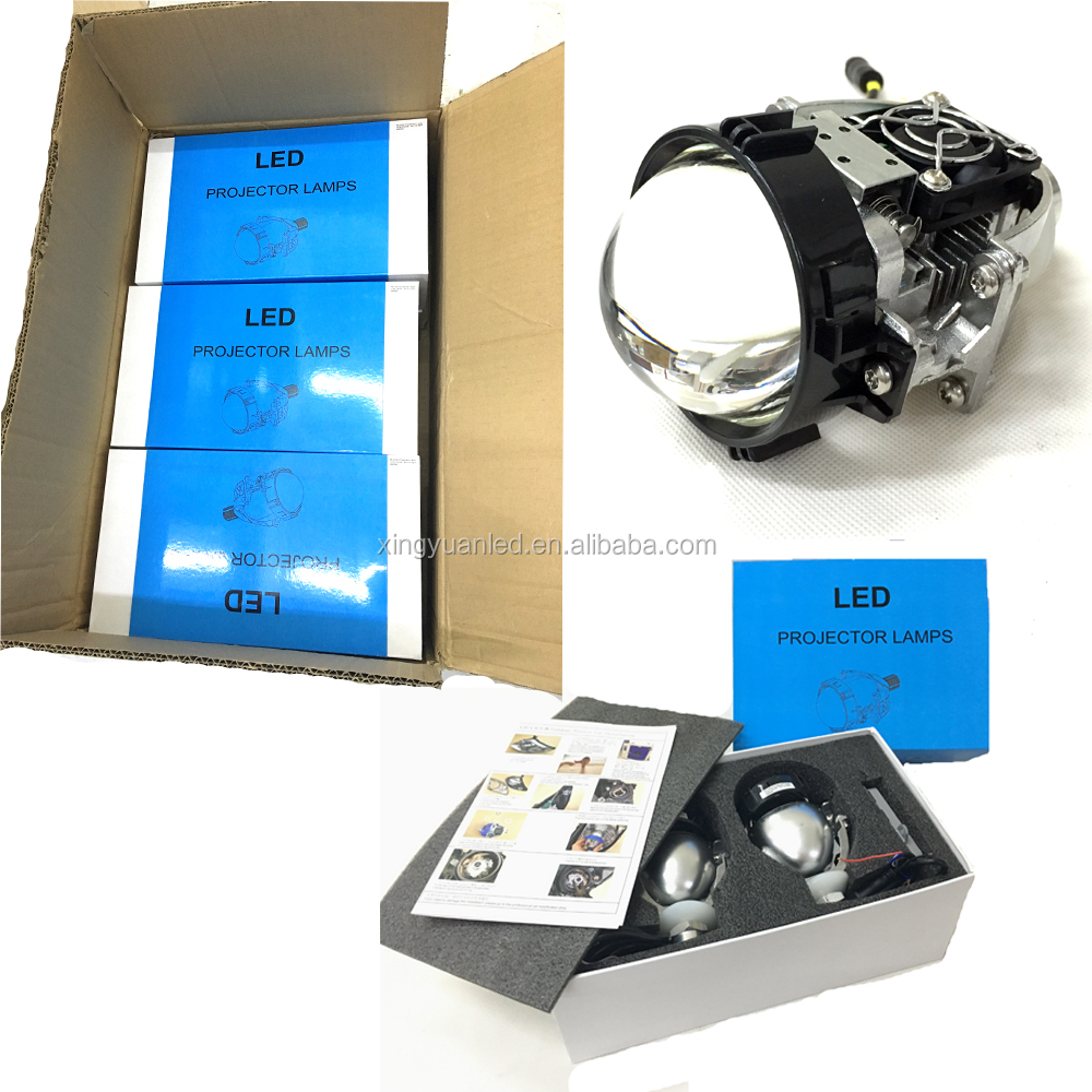 Q5 Lamp Headlight Koito Bi Led Projector Lens