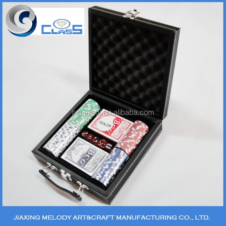 High performance top quality durable portable poker chip case for sale