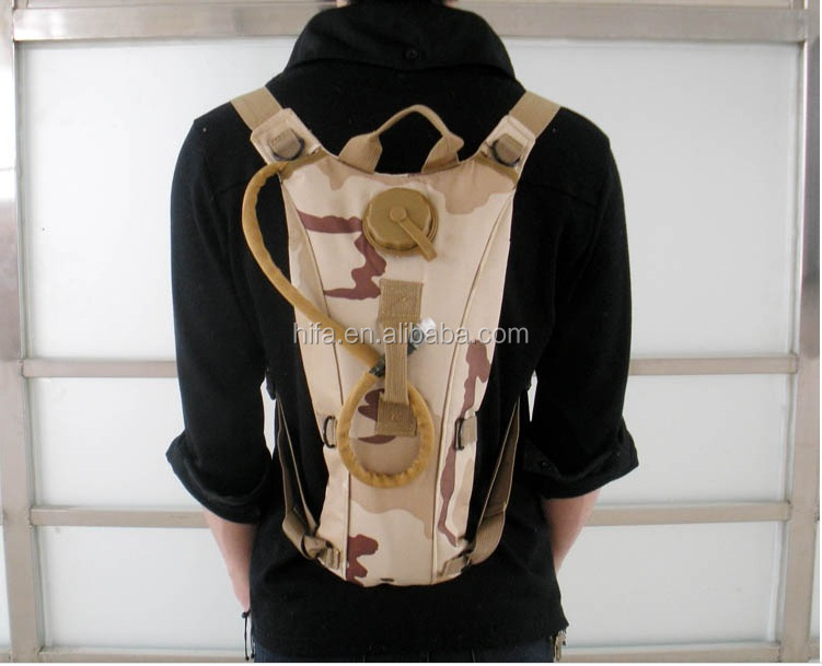 Wholesale 2.5L water bag hydration backpack