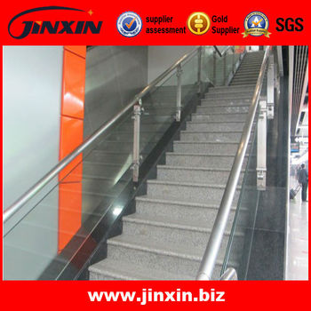 Stainless Steel Glass Interior Stair Railing Systems, View Interior Stair  Railings, JINXIN Product Details From Guangzhou Jinxin Hardware Products ...