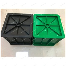 ABS Plastic 100mm 150mm concrete test cube mould