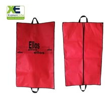 Pink Hanging Eco Friendly Bulk Suit Carry Travel Garment Bag Covers