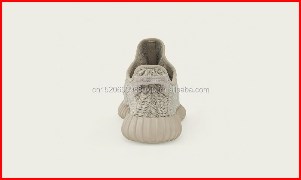 High quality flyknit fabric yeezy 350 shoes