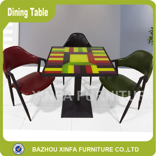 Square Glass Top Dining Table And Chairs Used For Fast  : Square glass top dining table and chairs from www.alibaba.com size 600 x 600 png 360kB