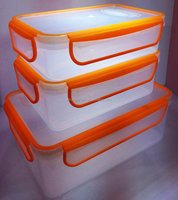 food container set / plastic food storage box / microwave container set