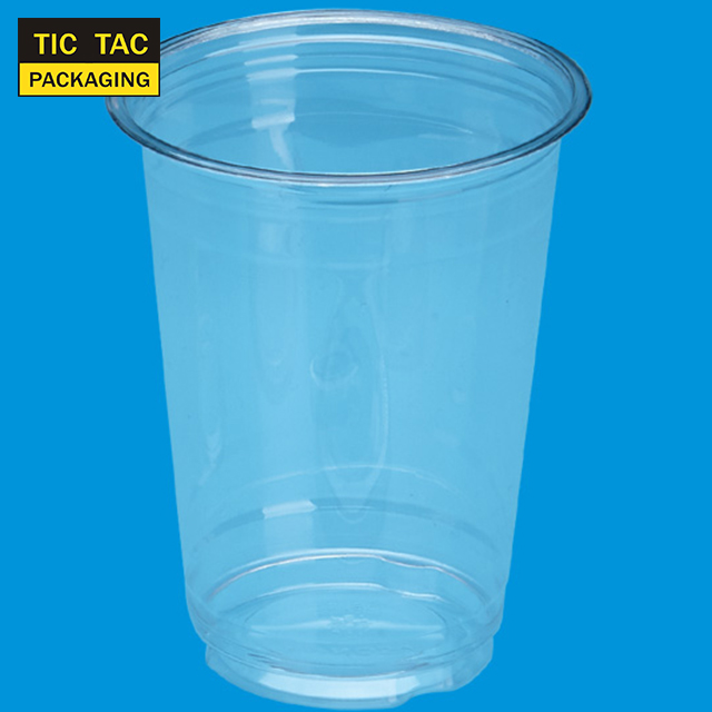16oz clear disposable Plastic PET Cup for drink and juice and smoothie