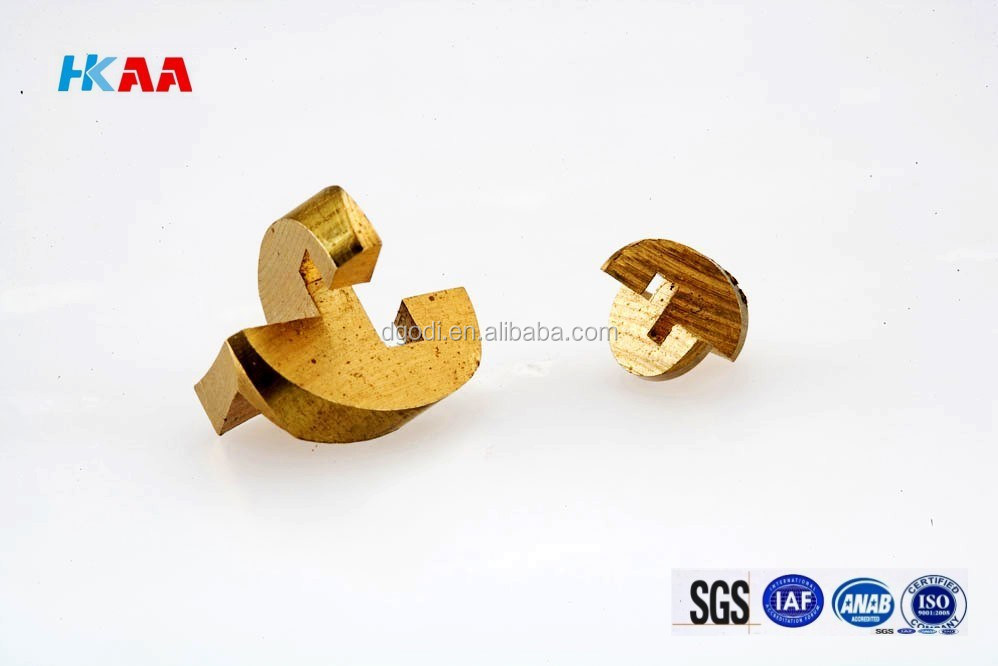 CNC Milling Machining Brass