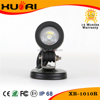 10W Car LED Work Light CE Rohs FCC Approved DC 10-30V Motocycle Led Front Light