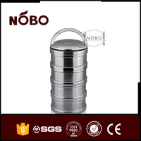 food grade shipping stainless steel lock and lock food container