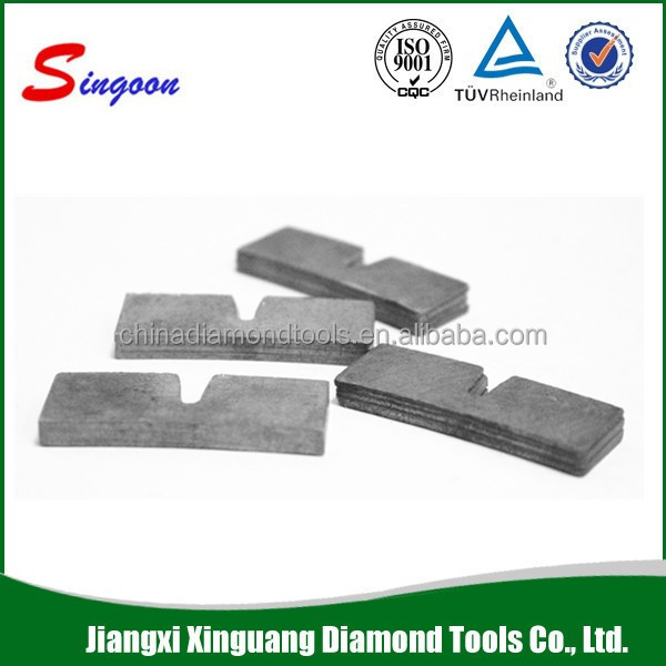 Multilayer 30mm Tall Segment Diamond for Cutting Abrasive Material