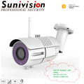 Onvif 2.0MP Indoor and Outdoor Optional WiFi Wireless 1080p HD Security cctv ip camera