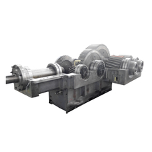 Two stage cylindrical helical speed reducer gearbox