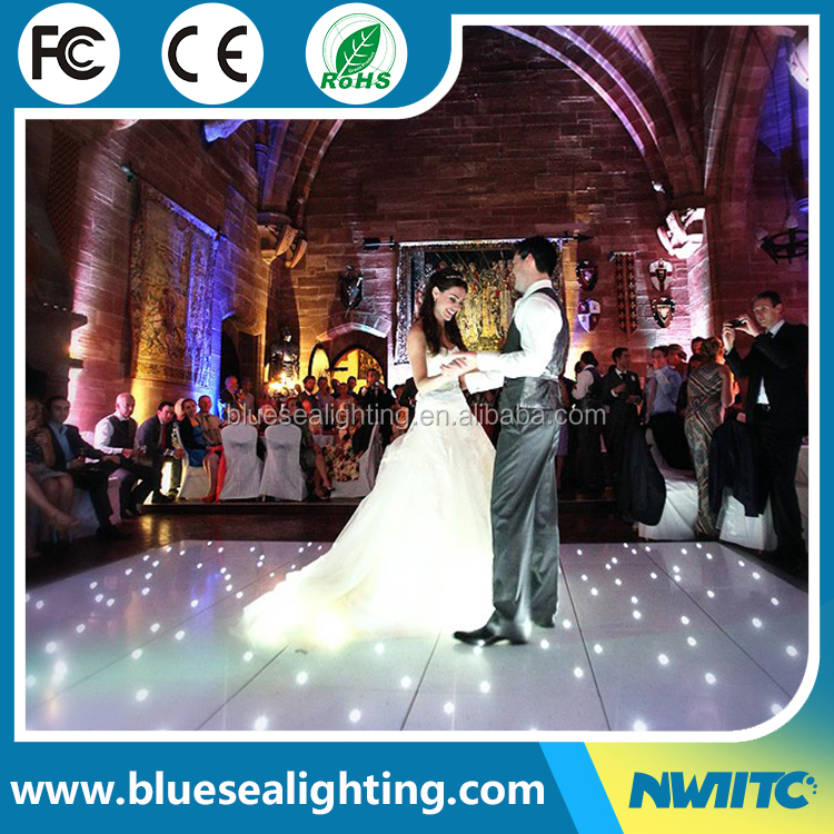 Buy disco panels wedding star light up starlit portable led dance floor