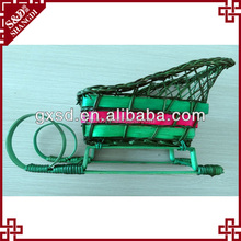Rattan unique 2013 hot christmas craft ideas for adults