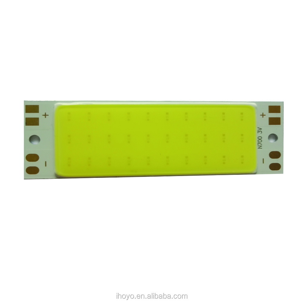 Chip on Board LED 15 watt Slim Linear Type High Power COB LED chip for Solar Light System with CE/RoHS Certification
