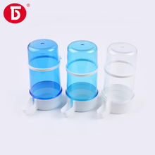 Plastic water bottle for pigeon bird cage water drinkers with hook