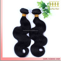 Fast shipping factory direct selling 100% human hair weft mongolian body wave hair