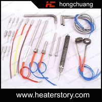 12v 380v Corrosion and Heat Resistance High Watts Density Cartridge Heater for Welded Joint
