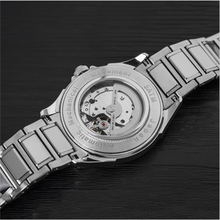 MIYOTA movement 5ATM automatic skeleton stainless steel mens watch