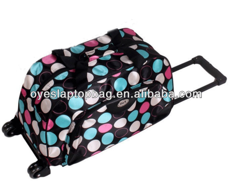 travel trolley duffel bag with wheels