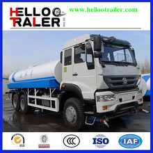 China 20000 liter water delivery tanker truck