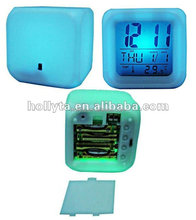 Wake up light with Nature Sound Alarm Clock Radio and 7Color Light