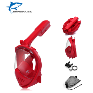 Most popular 2018 snorkeling mask full dry diving mask