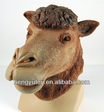 Realistic multifunctional latex Full HEAD Costume Camel Mask Adult Costume Halloween With CE international approvals