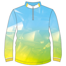 OEM Quick Dry Plus Size Polyester Fishing <strong>Wear</strong> 50+ UV Long Sleeve Fishing Breathable Printed Fishing Tournament Jersey <strong>Wear</strong>