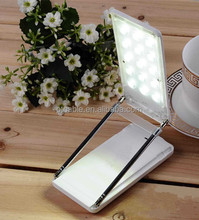 2016 new novelty 4000mAh Smart LED Desk Lamp Foldable creative power bank with table lamp